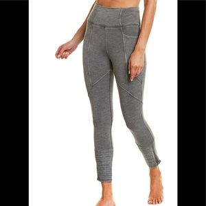 NWT Free People Get on It Legging Dark Silver Med